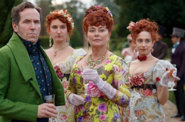 Os Featheringtons em Bridgerton (Netflix)