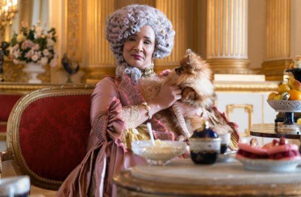 Rainha Charlotte em Bridgerton (Netflix)