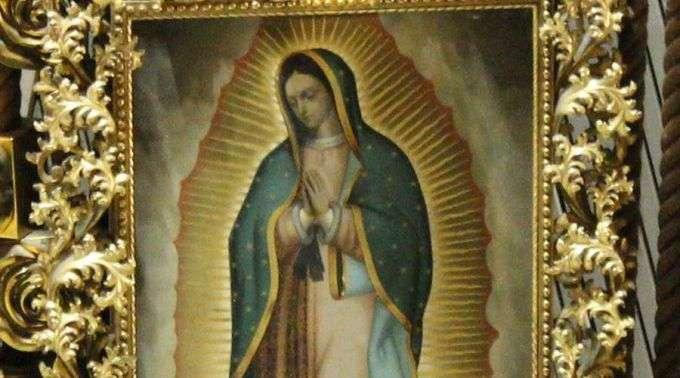 A única relíquia da Virgem de Guadalupe fora do México interveio neste milagre